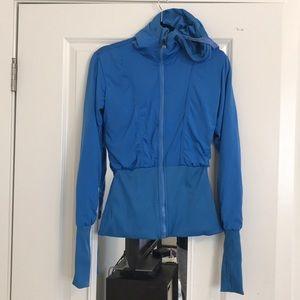Small Blue Lululemon Scuba Jacket